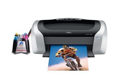 Epson Stylus C88+ Inkjet Printer with CISS