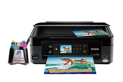 Epson Stylus NX430 All-in-one InkJet Printer with CISS