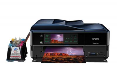 Epson Artisan 837 All-in-one InkJet Printer with CISS